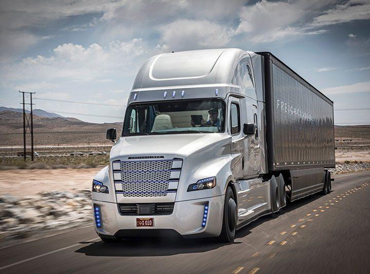 driving trucks